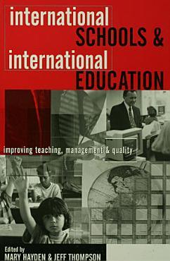 International Schools and International Education PDF