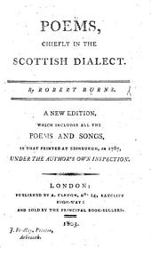 Poems chiefly in the Scottish dialect, by Robert Burns; with an account of his life by Robert Heron