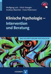 Klinische Psychologie - Intervention und Beratung