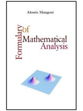 Formulary of mathematical analysis