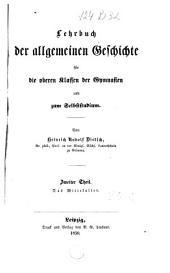 Lehrbuch der allgemeinen Geschichte: Band 2