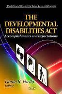 The Developmental Disabilities Act