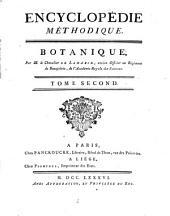 Encyclopédie méthodique: Botanique, Volume2,Partie1