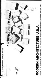Modern Architecture U.S.A.