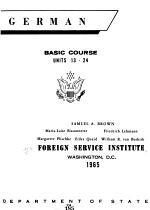 German Basic Course: Units 13-24