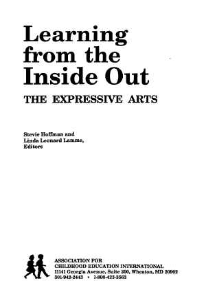 Learning from the Inside Out PDF