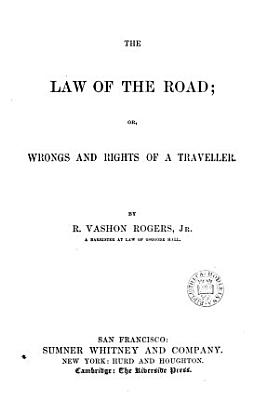 The Law of the Road PDF