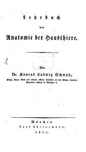 Lehrbuch der Anatomie der Hausthiere