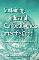 Sustaining Industrial Competitiveness after the Crisis PDF