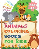 Africa Zoo Fun Farm Age 4 8 Animals Coloring Books for Kids PDF