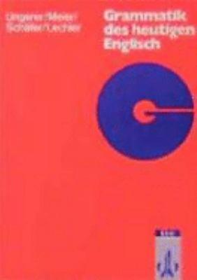 Grammatik des heutigen Englisch PDF
