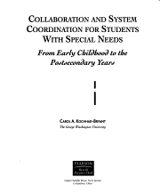 Collaboration and System Coordination for Students with Special Needs PDF