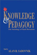 Knowledge and Pedagogy