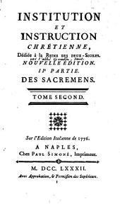 Institution et instruction chrétienne, par l'abbé Pierre-Sébastien Gourlin