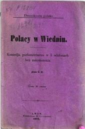 Polacy w Wiedniu: Komedja parlamentarna w 5 odsłonach bez zakończenia