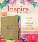Inspire Prayer Bible NLT  Hardcover Leatherlike  Metallic Gold   The Bible for Coloring   Creative Journaling