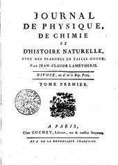 Journal de physique de Chimie et d'histoire naturelle (etc.)