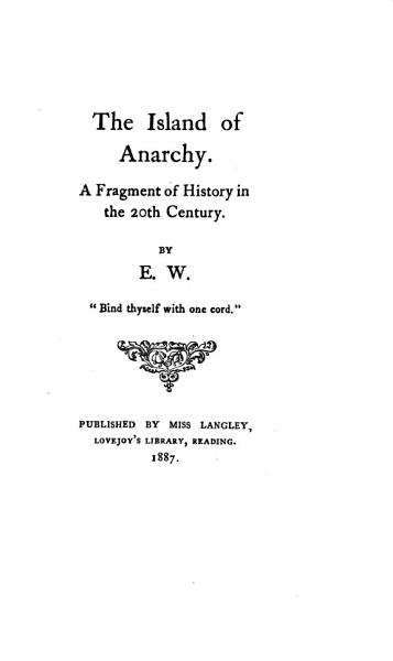 The Island of Anarchy