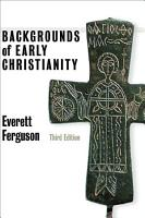 Backgrounds of Early Christianity PDF