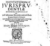 Institutionum iurisprudentiae doctrina generalis