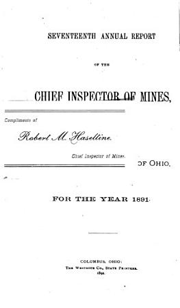 Annual Report of the Chief Inspector of Mines for the Year Ending    PDF