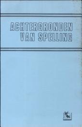 Achtergronden van spelling: lezingen