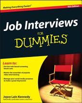 Job Interviews For Dummies: Edition 4