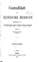 Centralblatt f  r klinische Medizin PDF