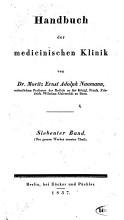 Handbuch der medicinischen Klinik PDF