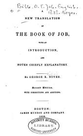 A new translation of the Book of Job
