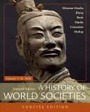 A History of World Societies  Concise  Volume 1
