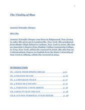 The Final Shunning: Memoir/Autobiography/Non-fiction