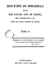 Don Pápis de Bobadilla, 5: Volumen 4