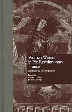 Women Writers in Pre revolutionary France PDF