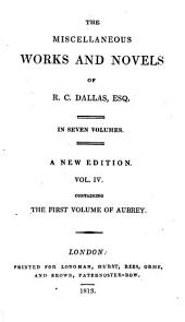 The first volume of Aubrey