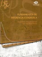 Fundamentos de inferencia estad  stica PDF