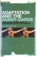 Adaptation and the Avant Garde PDF