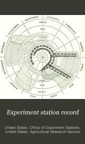 Experiment Station Record: Volume 30