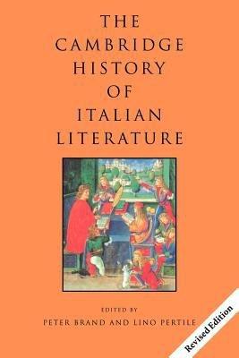 The Cambridge History of Italian Literature PDF