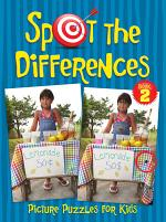 Spot the Differences Picture Puzzle Book for Kids 2