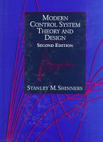 Modern Control System Theory and Design PDF