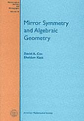 Mirror Symmetry and Algebraic Geometry