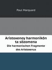 Aristoxenoy harmonik?n ta s?zomena