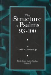 The Structure of Psalms 93-100