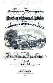 Report: Volume 11, Parts 1882-1883