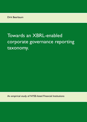 Towards an XBRL enabled corporate governance reporting taxonomy  PDF