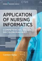Application of Nursing Informatics PDF