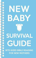 New Baby Survival Guide  Blue  Book