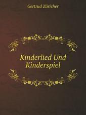 Kinderlied Und Kinderspiel