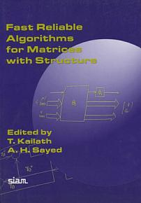 Fast Reliable Algorithms for Matrices with Structure PDF